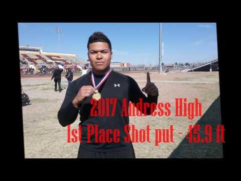 Anthony Munoz - El Paso, Texas - Andress High School Junior