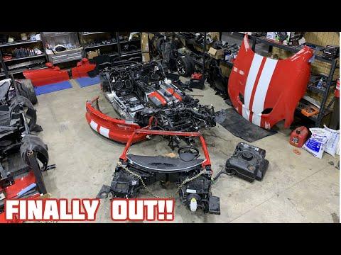 Rebuilding a Wrecked 2017 Dodge Viper GT Part 4