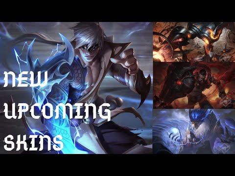 NEW UPCOMING SKINS (Singed, Aurelion Sol, Zac and Lee Sin) | League of Legends