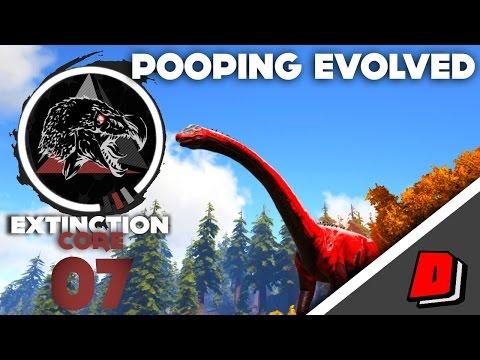 ARK Pooping Evolved: Extinction Core (Annunaki Genesis 2) - E07 - ALPHA BRONTO TAME!!