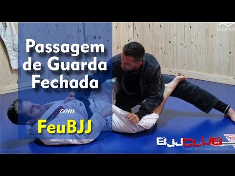 Detalhes da Passagem de Guarda Fechada com FeuBJJ - Jiu-Jitsu - BJJCLUB