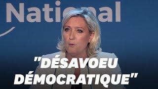 Marine Le Pen, victorieuse, réclame la dissolution de l'Assemblée