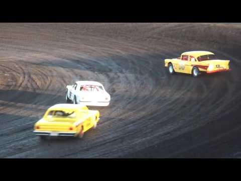 A.I.R.S. American Iron Racing Series Heats Benton County Speedway 9/18/16