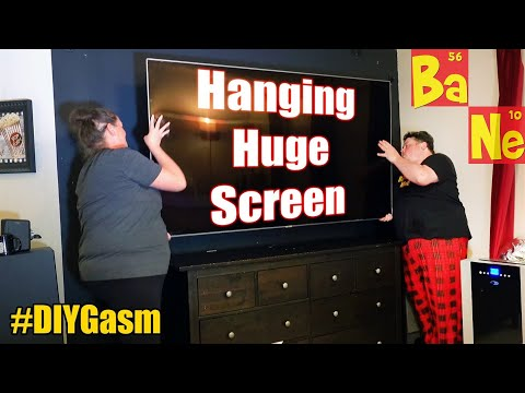 How to easily mount your TV on a wall without panicking - #DIYGasm