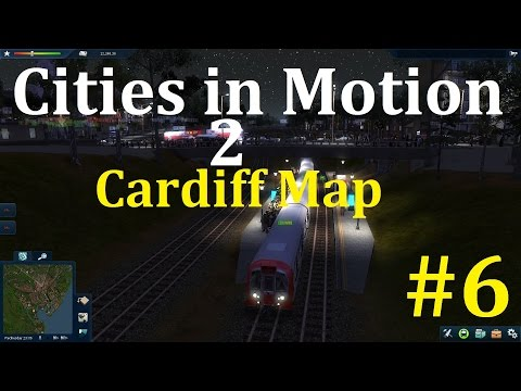 Cities In Motion 2 Complete, Cardiff Map, How To Make A Metro Service