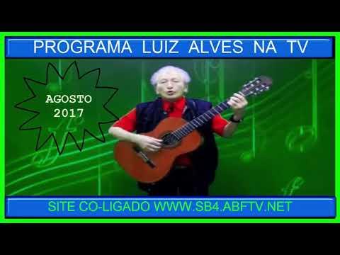 LUIZ  ALVES  NA TV;AGOSTO