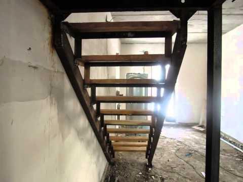 Лестница межэтажная металлическая - изготовление