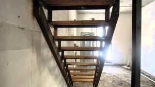 Лестница межэтажная металлическая - изготовление(, 2015-03-07T12:09:55.000Z)