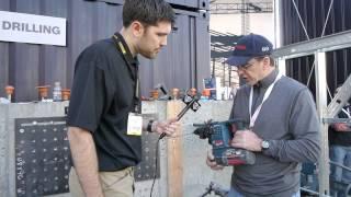 Bosch 36v Cordless Bulldog Rotary Hammer Drill Rh328vc-36