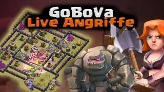 Clash of Clans | GoBoVa Live Angriffe! Rh8/9 | Reazor [Deutsch/German|HD]