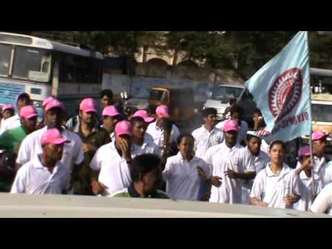 Naina Olympic Day Run with Ashwini Nachappa
