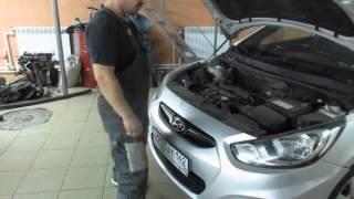 Qanday Hyundai Solaris bo'yicha bumper olib tashlash uchun