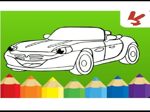 juego de colorear carros para ni os juego cars coloring book youtube. Black Bedroom Furniture Sets. Home Design Ideas