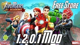 MARVEL: Avengers Academy - 1.2.0.1 Mod (Free Store) APK