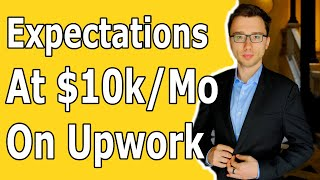 What Happens When You Get To 10k Per Month On Upwork