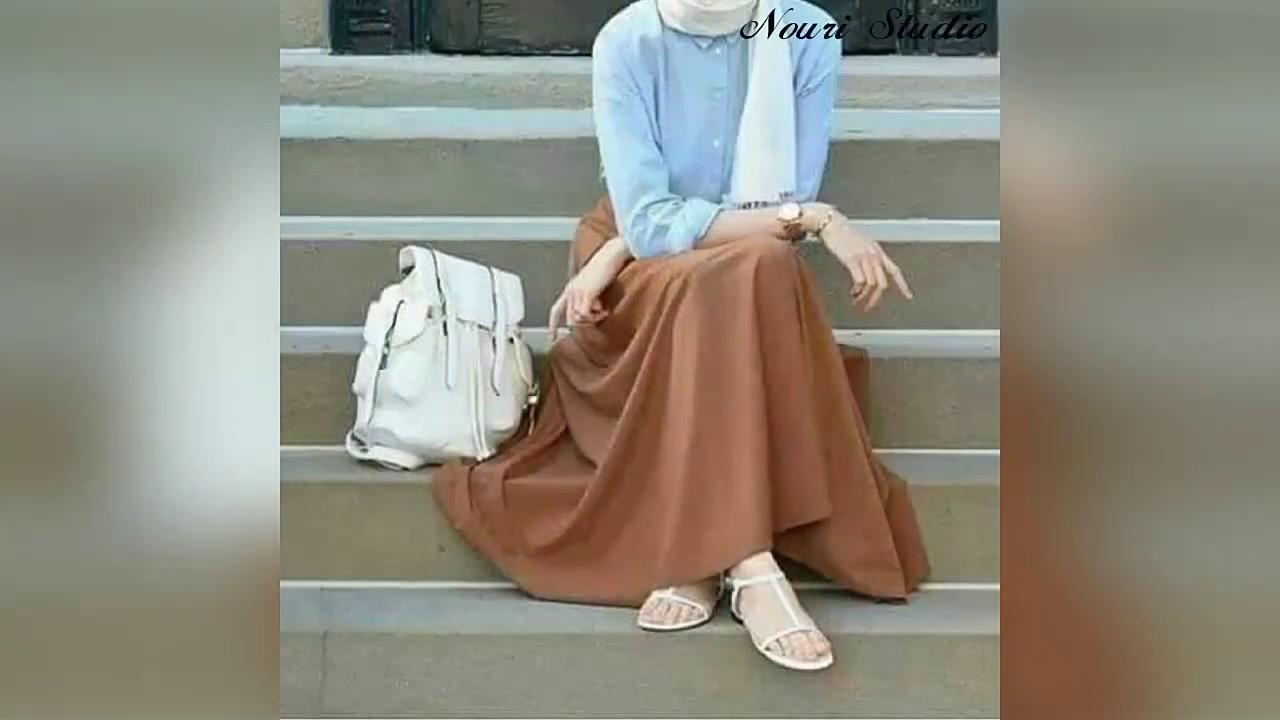 f832048be0fb4 أزياء محجبات جامده جدا موضه صيف 2017 fashion - YouTube