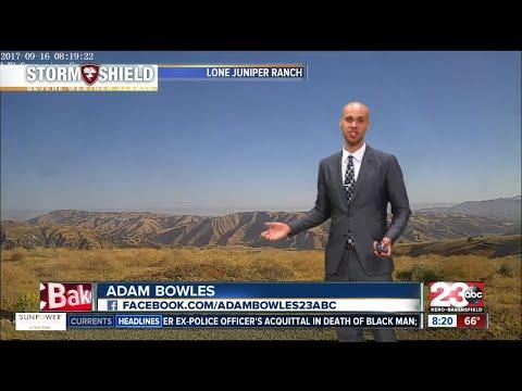 Below normal temperatures in store for Kern County!