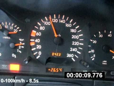 Mercedes S320 W140 0-200 231HP