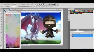 2 Видео урок по фотошопу