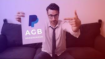 PayPal AGB Änderungen