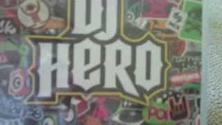 DJ Hero Renegade Edition Unboxing (PS3)