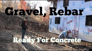 Gravel, Rebar, Prepping For Concrete (Addition) And Hindsight... thumbnail