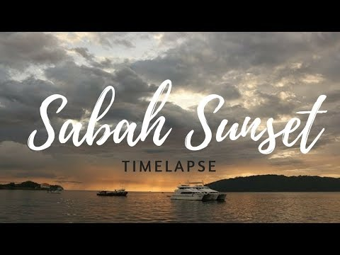 Sabah Sunset Time-lapse from KK Waterfront