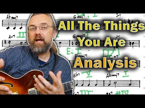 All The Things You Are  - Harmonic Analysis