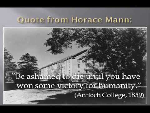 Horace Mann - The Father Of American Education