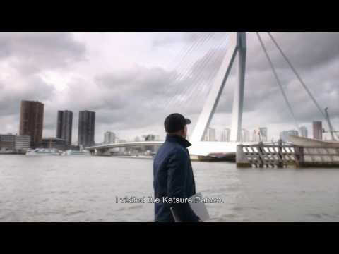 Architect Ben van Berkel talks about his Erasmus Bridge and Surface Book