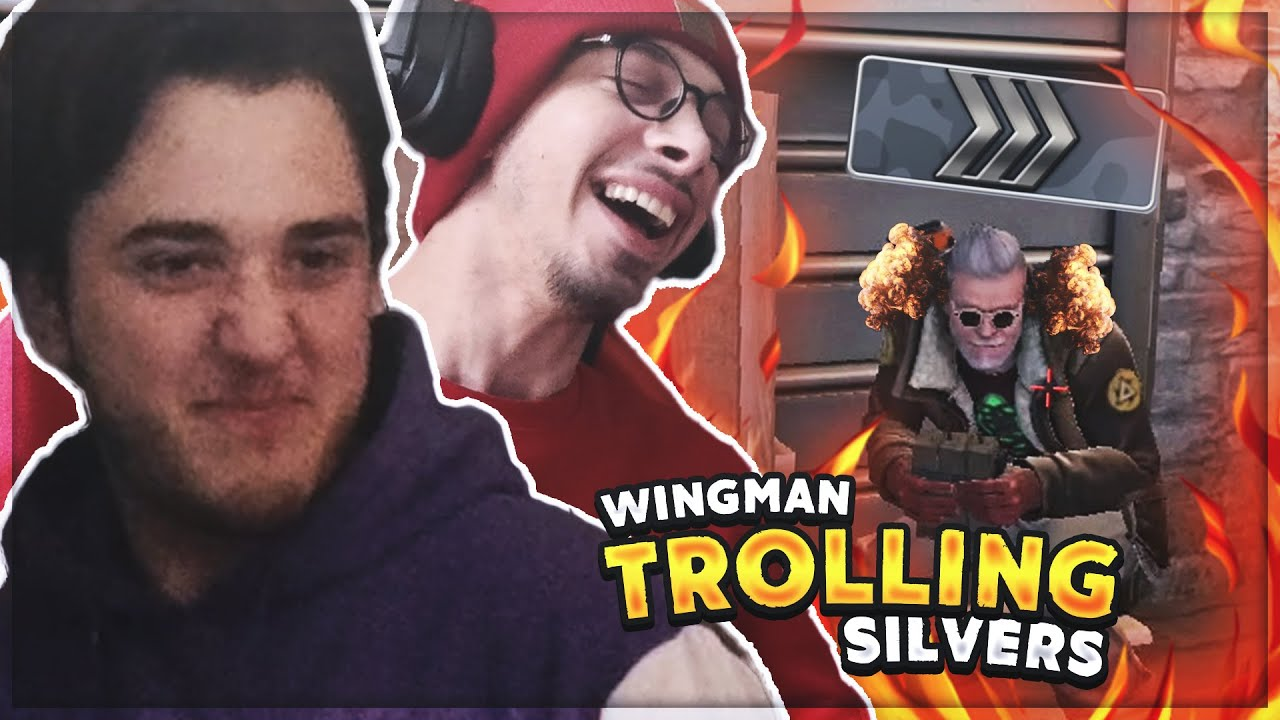 TROLLING SILVERS | CSGO WINGMAN WITH MY BROTHER @Sabias /Saba Kalichava