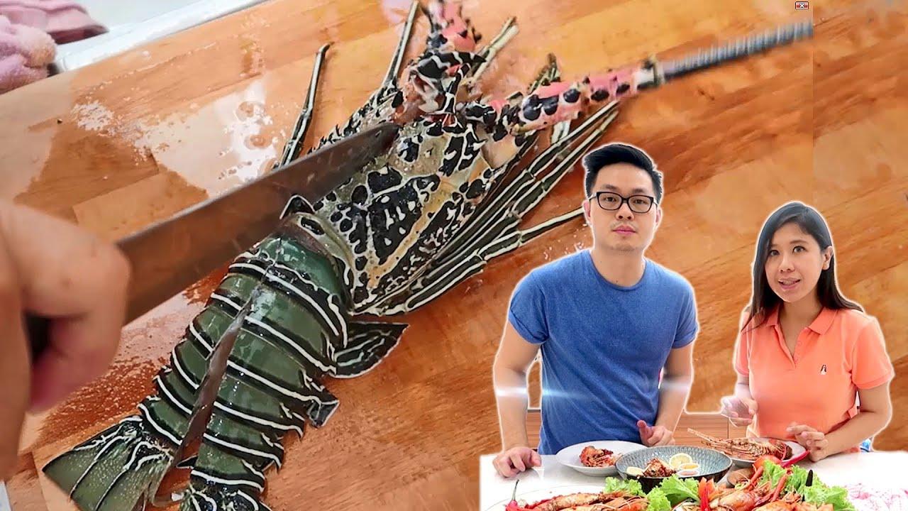 Resep Mudah Lobster Mentega Udang Gala Saus Padang Di Rumah Aja Youtube