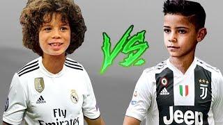 Марсело мл. vs Роналду мл.: кто будущий король футбола?