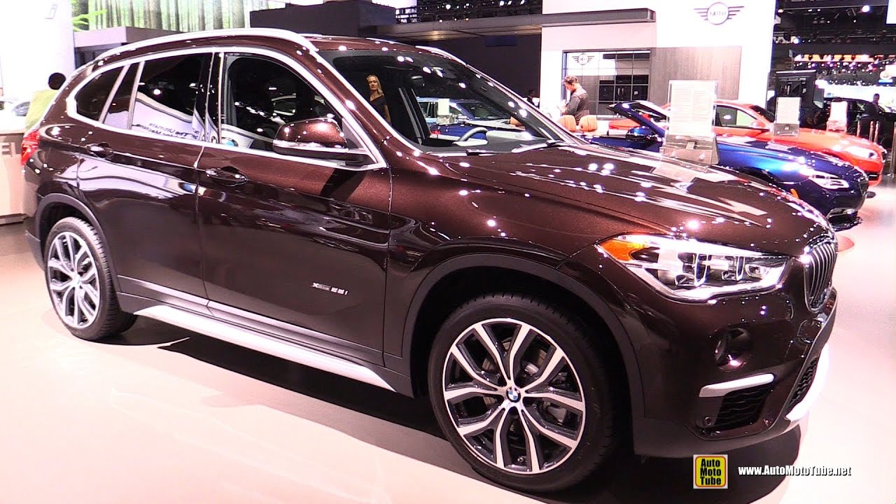 2017 Bmw X1 28i Xdrive Exterior And Interior Walkaround