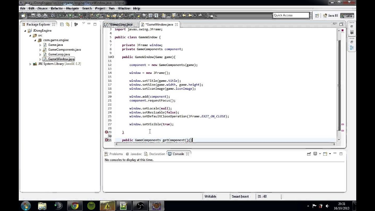 How to create a java game 79
