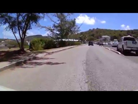 Driving in Antigua - Airport to English Harbour