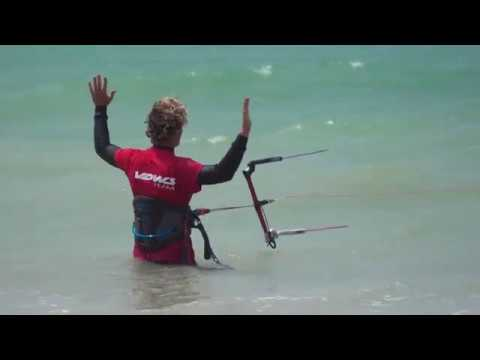 the 3 step safety system in Kitesurfing