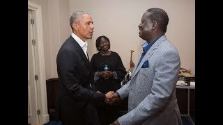 List of issues that Barack Obama discussed with Raila Odinga and Uhuru Kenyatta