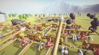 Giant Ballista Battle! - Totally Accurate Battle Simulator Gameplay & TABS Funny Moments