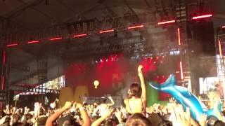 MAJOR LAZER live Coachella 2013 second weekend.