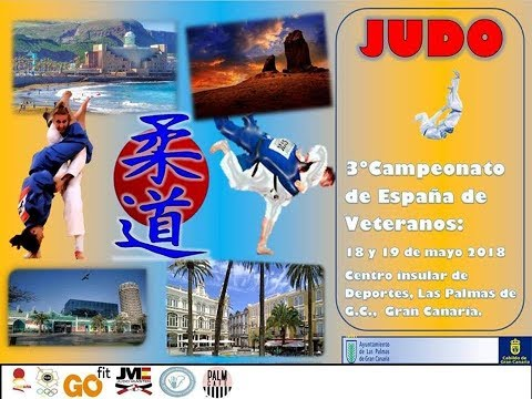 3º CAMPEONATO ESPAÑA JUDO VETERANOS 19-05-2018