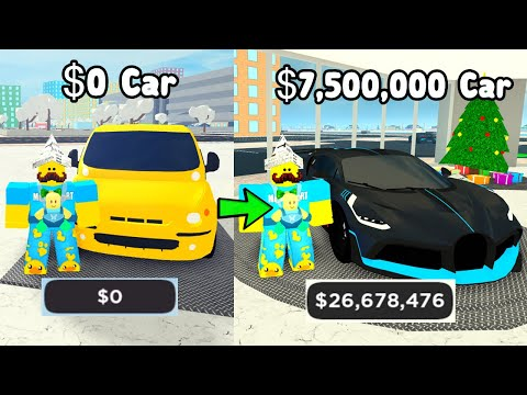 Buying The Best Car For 7.5 Million Dollars! - Car Dealership Tycoon Roblox