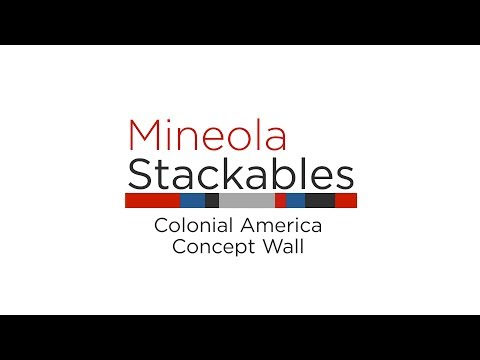 Stackables: Colonial America Concept Wall