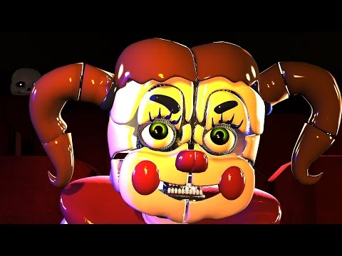 SFM FNAF FIVE FUNKY NIGHTS AT SISTER LOCATION FUNKY PUPPET SHOW AUDITION