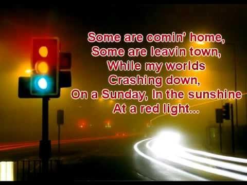 David Nail- Red Light with lyrics