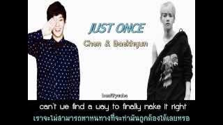 [Thaisub] Just once - Chen & Baehkyun (EXO)