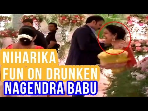 Niharika Making Fun On Her Drunken Father Nagendra Babu