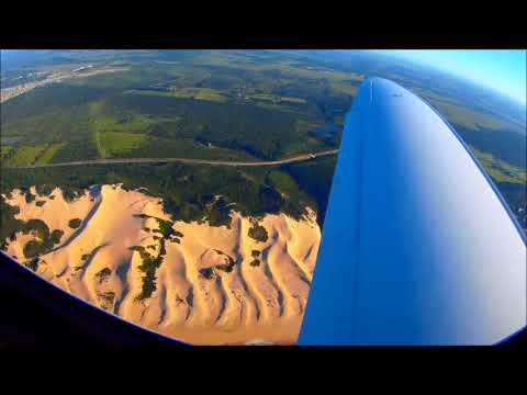 Quick flight in a Lancair Evolution