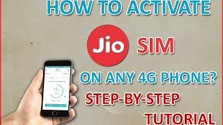 Live Activation - How To Activate Reliance JIO SIM On Any 4G Phone With Unlimited Data & Call(GUIDE)(, 2016-09-02T09:08:22.000Z)