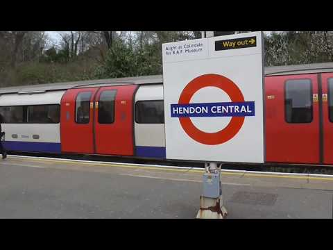 Journey on Northern Line from Camden Town to Edgware